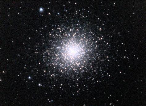 Cụm sao cầu Messier 2 hay tên gọi khác là NGC 7089. Hình ảnh: Ole Nielsen.