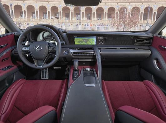 2019 Lexus LC Interior Specs, Price, Release Date