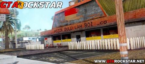 Mod Nova Pizzaria Realista para GTA San Andreas