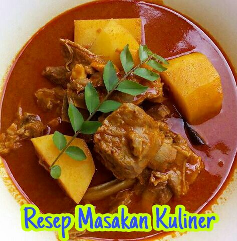 Kari Kambing India, Resep kari daging kambing india,
