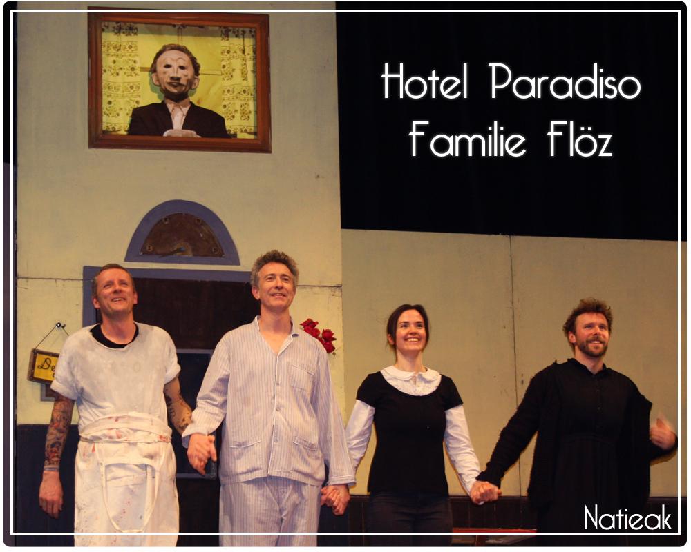 Familie Flöz bientôt à Paris pour son Hotel Paradiso