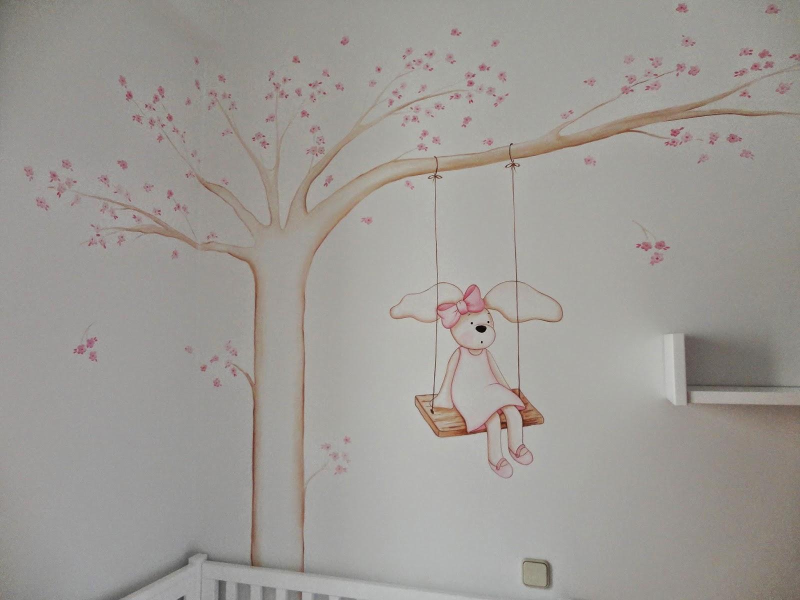 Decopared murales de arboles para bebes - Habitaciones infantiles decoracion paredes ...