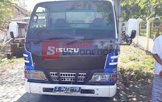 Dijalan Desa, Dump Truck Ini Tabrak Pejalan Kaki Hingga Tewas