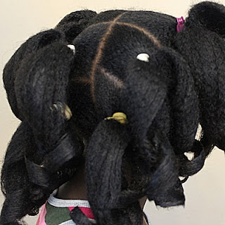 How To Roller Set THICK Natural Hair 4C QUICKLY Using Gel