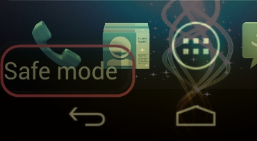 how to turn off or turn on safe mode on android phone