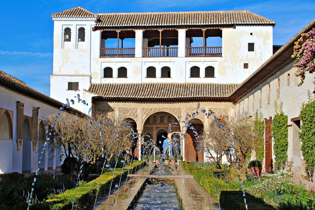 Ganas de viajar la alhambra desde dentro for Jardines generalife