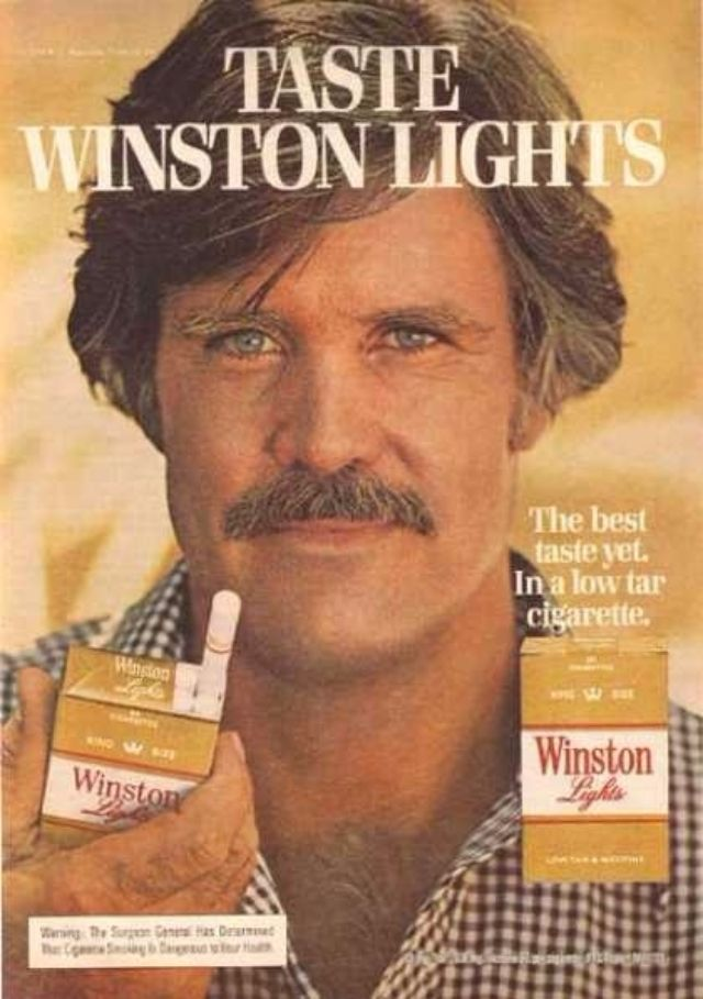 11 Pornstache Cigarette Ads From The 1970s Vintage Everyday
