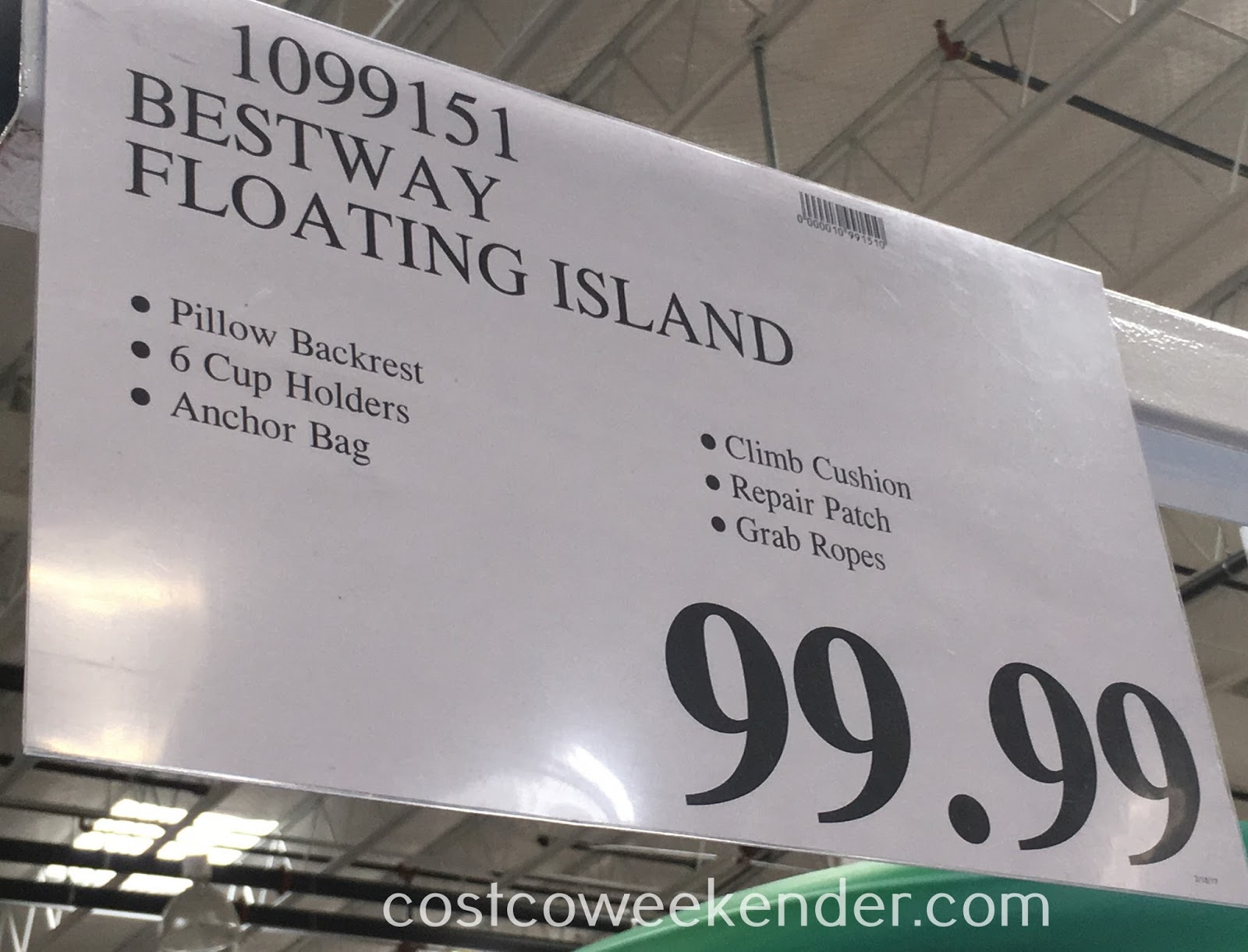 Costco 1099151 - Deal for the Bestway CoolerZ Blue Caribbean Island at Costco