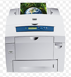 The Xerox Phaser 8860 is the first color printer to feature a new generation of Xerox solid ink technology.
