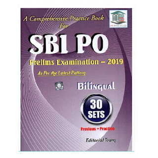 SBI PO Prelims Practice Work Book - 2019 (Bilingual) by MB Books
