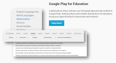Google Play for Education launched just to cater to the academics with a preference for kids