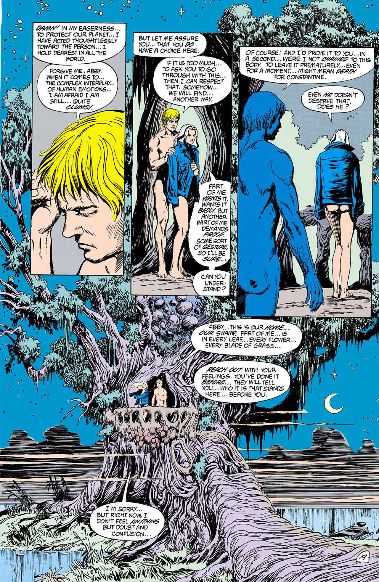 Swamp Thing (1982) Issue #76 #84 - English 19
