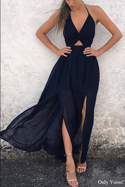 https://www.yoins.com/Navy-Sexy-Halter-Backless-Splited-Hem-Dress-p-1172055.html