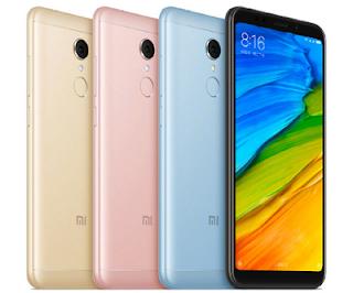 Harga HP Xiaomi Redmi 5 Keluaran terbaru