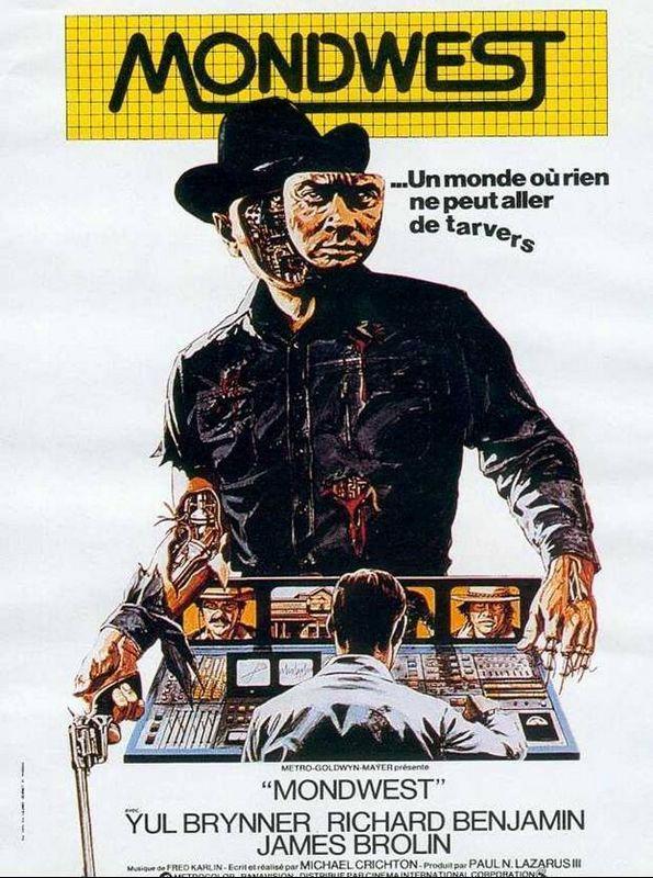 affiche du film Mondwest