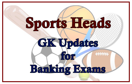 Sports Heads-GK Questions