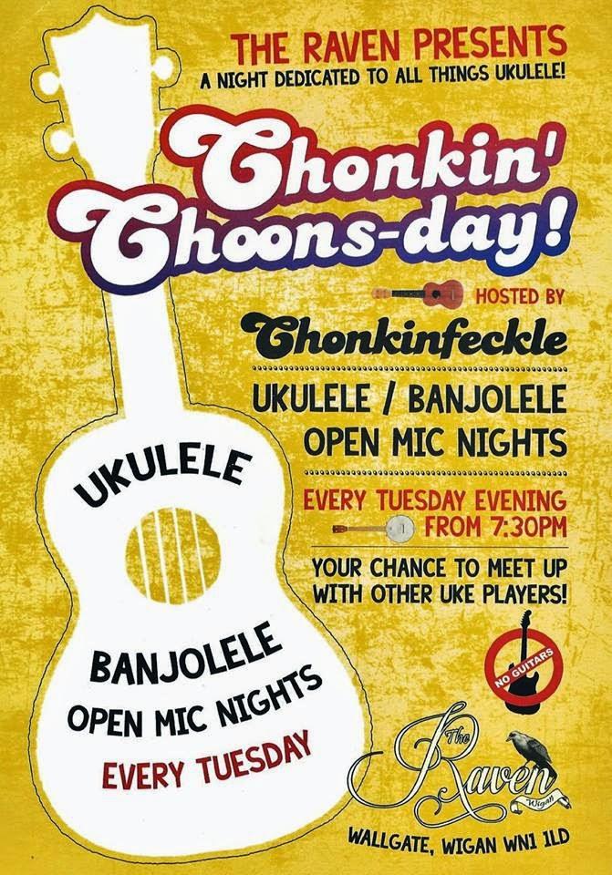 Chonkin Tunes Ukulele Open Mic