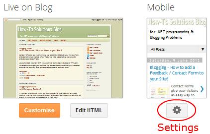 Blogger how to modify desktop mobile template maxwellsz