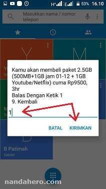 paket internet tri murah 2.5gb 9500 3 hari