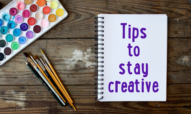 Tips to keep living a creative life from You Can Folk It. Benefit from the mindfulness of creative pursuits and art.
