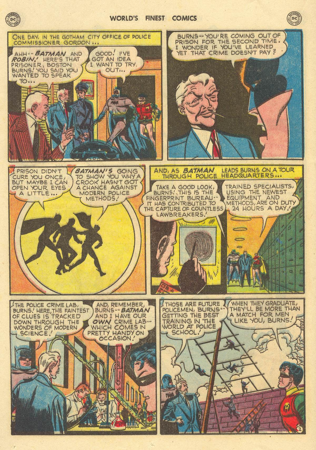 Read online World's Finest Comics comic -  Issue #51 - 64
