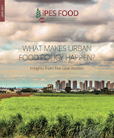 What Makes Urban Food Policy Happen report cover