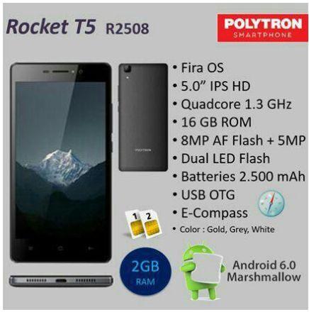 Polytron R2508 Rocket T5 Harga Dan Spesifikasi Ram 2gb Namun