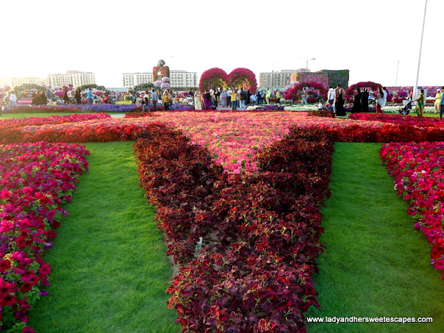 star at Dubai Miracle Garden