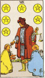 Six of Pentacles in Love and Relationships - Priania