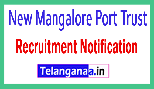 NMPT New Mangalore Port Trust Recruitment Notification