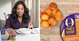 Oprah's new line of soups and side dishes, O, That's Good