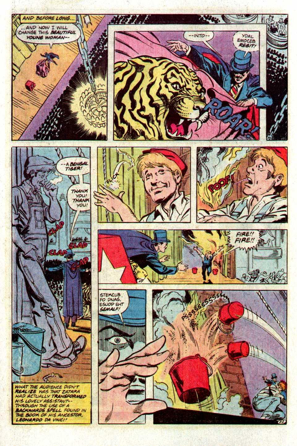 Read online Secret Origins (1986) comic -  Issue #27 - 23