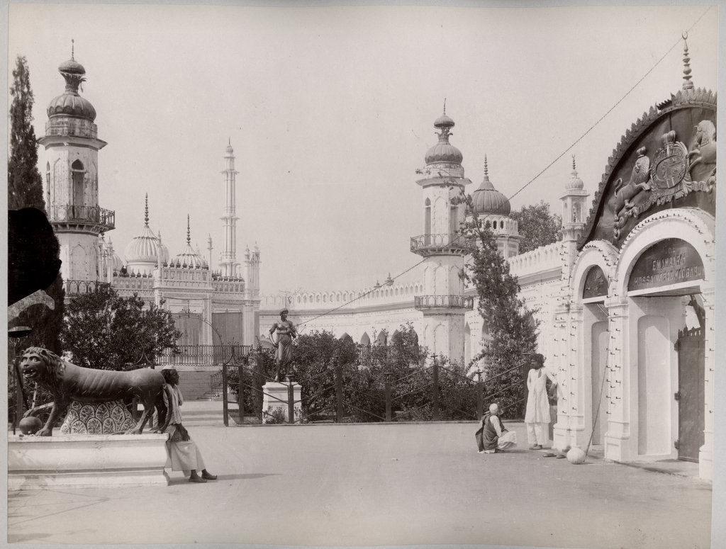 General View of Chhota Immambara, Lucknow - Circa 1890's
