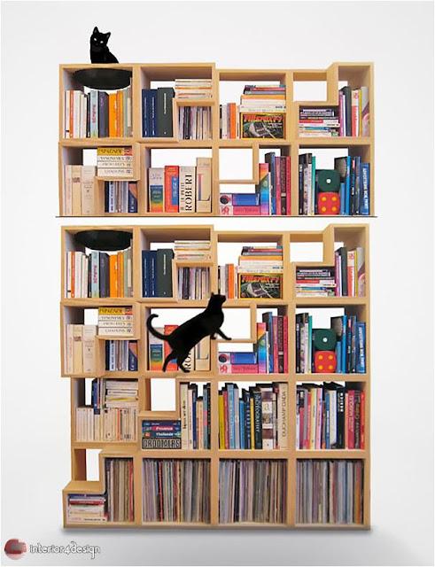 70 Best Bookshelf Designs 48