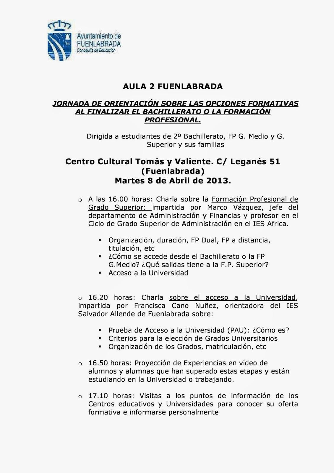 Ampa Ies José L López Aranguren 2014
