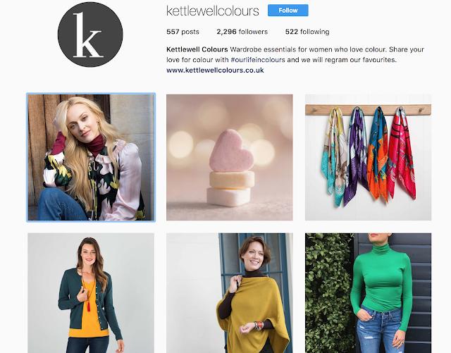 Kettlewell Colours Instagram
