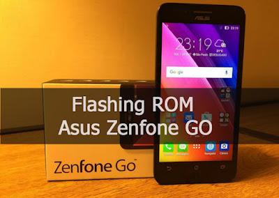 Cara Mengatasi Bootloop dan Flashing ROM Asus Zenfone Go Tanpa PC