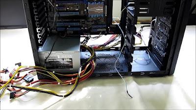 Các thành phần có trong bộ nguồn máy tính