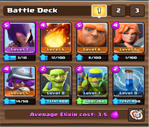 Giant Witch Deck (Without Legendary)