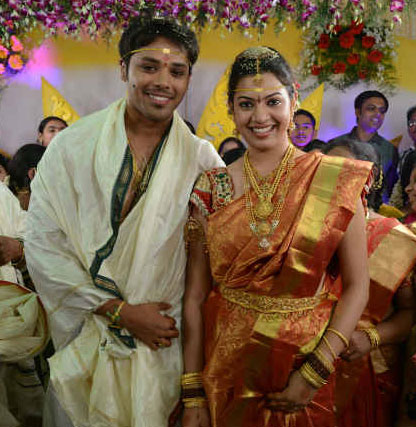 Geetha Madhuri Marriage Photo