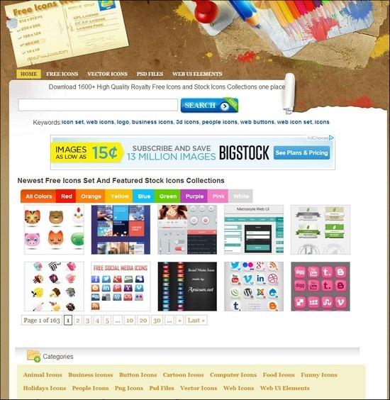 Situs Penyedia Icon Gratis Free Icons Web