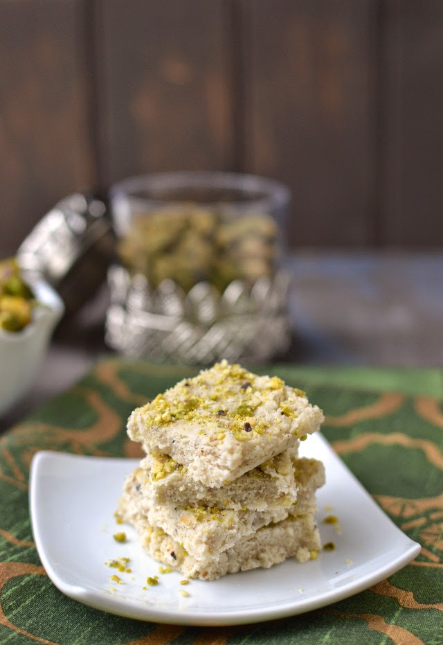 Afghani Sheer Payra (Afghani Milk Fudge)