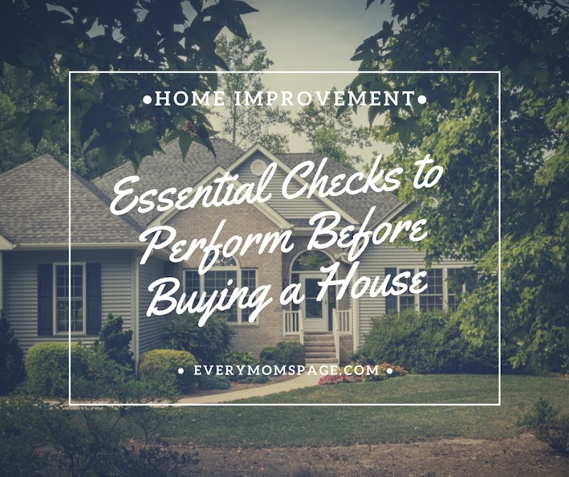 Essential Checks to Perform Before Buying a House