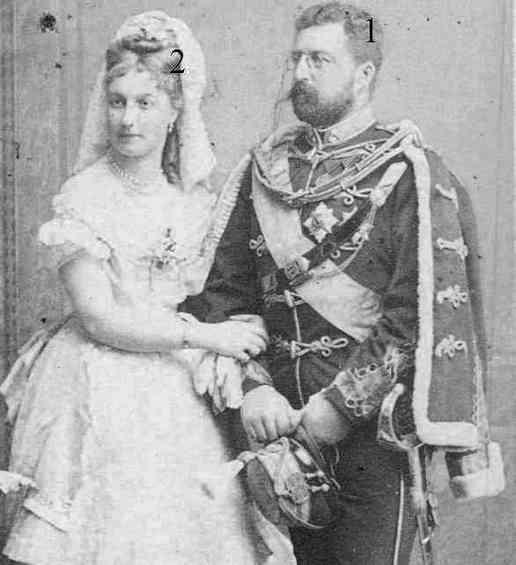 Philippe de Saxe-Cobourg-Gotha et Louise de Belgique