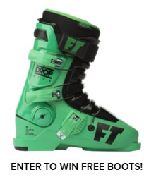 Full Tilt Boots are giving away their skiing boots to lucky winners and it is easy to enter to win these boots that range from $200 - $800 a pair!