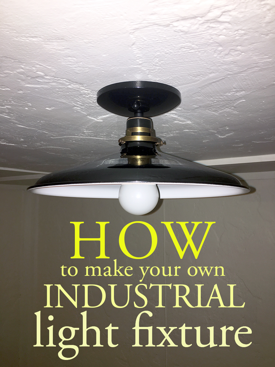 How to make an industrial light fixture the impatient gardener at some point during the process of falling in love with this light i posted a picture of it on instagram to which my friend eric from gardenfork replied mozeypictures Images