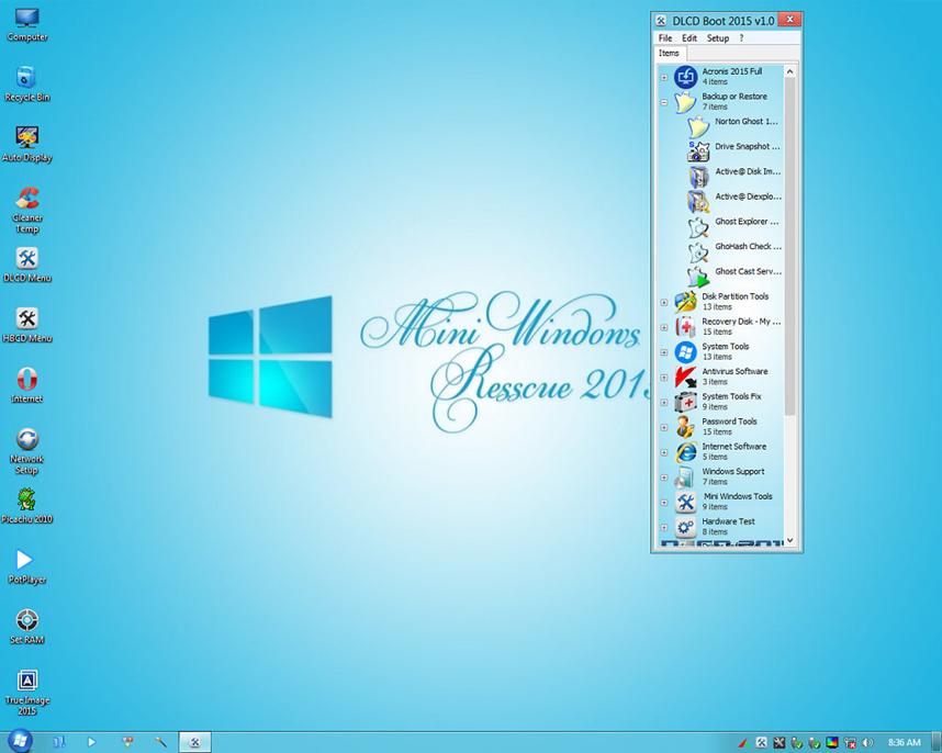 Tạo usb boot cứu hộ máy tính 1 click UEFI-Legacy