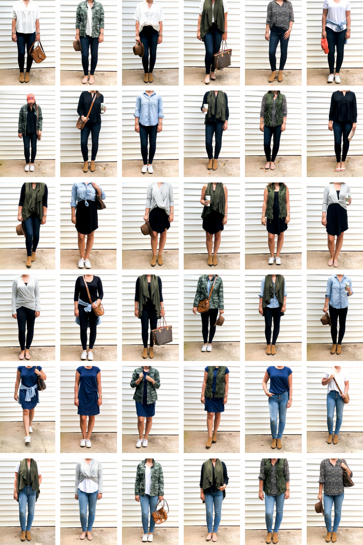The Ultimate Fall/Transitional Mom Capsule Wardrobe