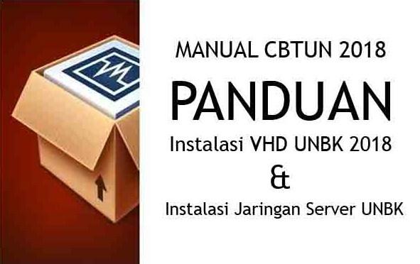 Cara Setting Aplikasi UNBK 2018 ( Install VHD dan Jaringan Server UNBK )