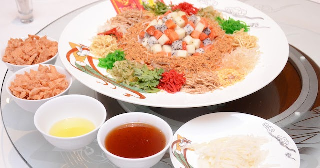 Traditional Chinese New Year Food Menus